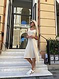 Женское повседневное платье миди, фото 3