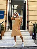 Женское повседневное платье миди, фото 2