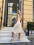 Жіноче повсякденне плаття міді, фото 4