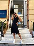 Женское повседневное платье миди, фото 5