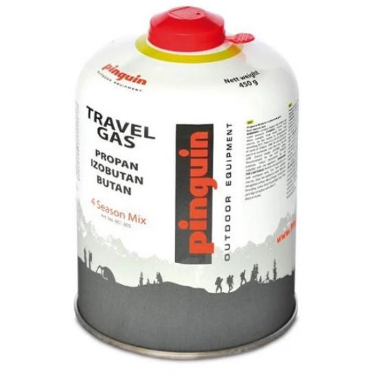 Туристический газовый баллон Pinguin 450 грамм.