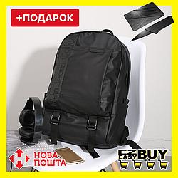 """Городской рюкзак Calvin Klein. Черный унисекс рюкзак. Рюкзак для ноутбука 15.6"""""""