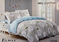 Набор постельного белья семейный от ELWAY из Польши 100% сатин