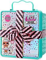 LOL Surprise Deluxe Подарочный набор Спринклс кукла и питомец Present Surprise with Sprinkles Doll and Pet, фото 1