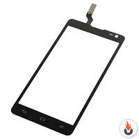 Тачскрин (Сенсор) для LG D605 Optimus L9 II черный*