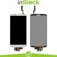Дисплей (экран) для LG D800 G2/D801/D803 + Тачскрин / Сенсор (Модуль) белый, 34 pin