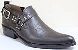 Туфли казаки кожаные мужские от производителя модель ЛЕ104-1, фото 2