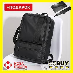 """Городской рюкзак-сумка в стиле Calvin Klein. Черный унисекс рюкзак-сумка. Рюкзак-сумка для ноутбука 15.6"""""""