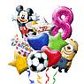 Шар фольгиррованный Happy Birthday С Днем рождения, фото 2