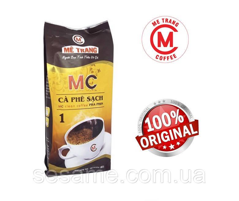 Вьетнамский кофе натуральный молотый Me Trang Ca Phe Sach 500г Вьетнам