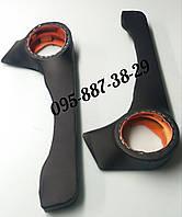 Акустические карманы ВАЗ 2108,2109,21099 поворот черные.