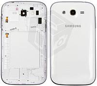 Корпус для Samsung Galaxy Grand Duos i9082, белый, оригинал