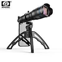 Монокуляр с креплением для телефона Premium Lens Apеxel 4K HD 36x VF91333
