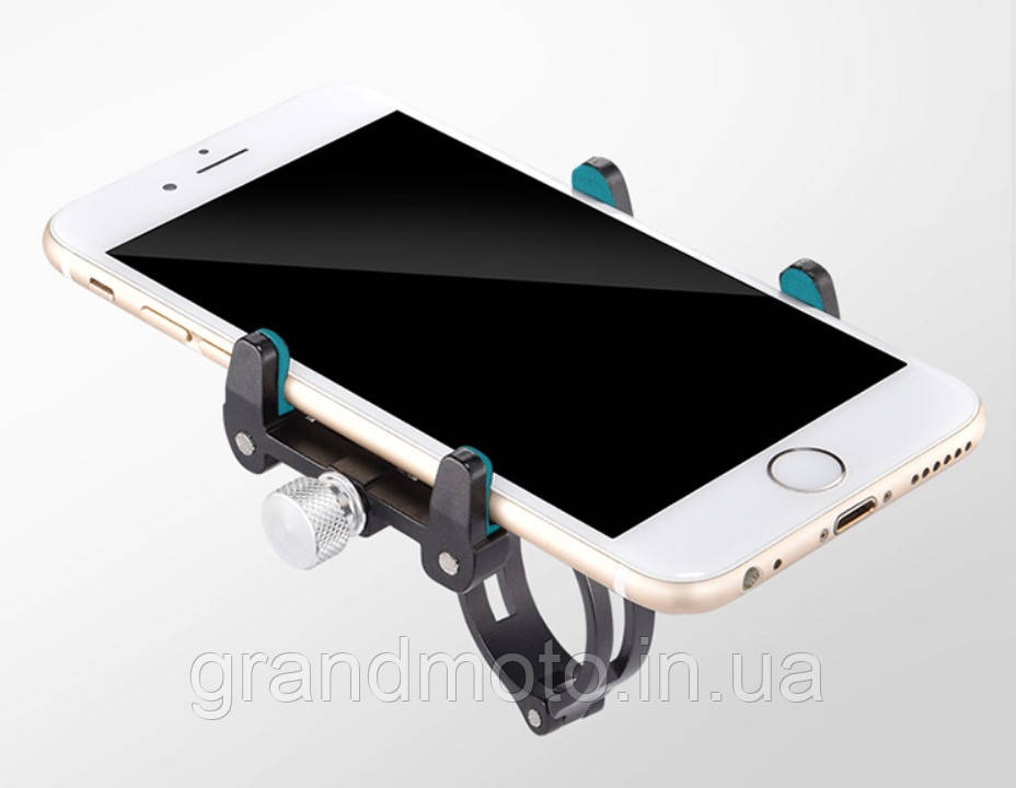 """Кронштейн кріплення на кермо мотоцикла телефону 4 - 6.6"""" 4point"""