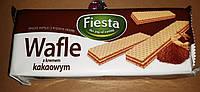 Вафлі шоколадні FIESTA 400грам польща.