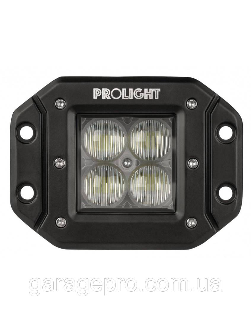 Встраиваемая светодиодная фара 40Вт ProLight