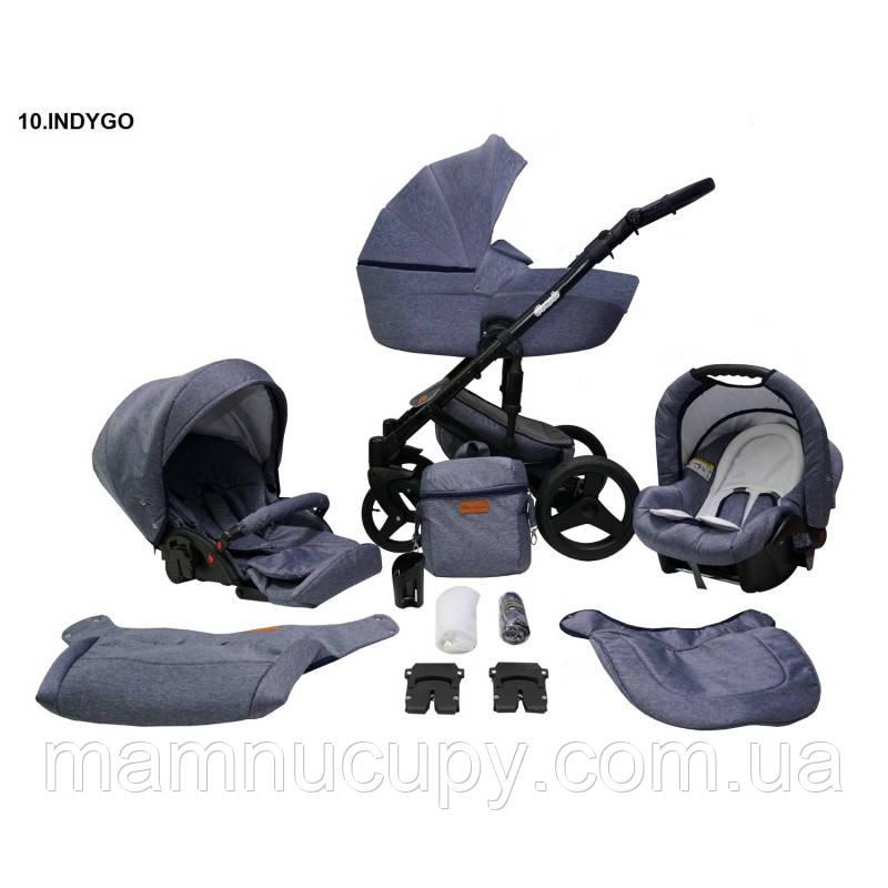 Дитяча універсальна коляска 2 в 1 Mikrus Comodo 10