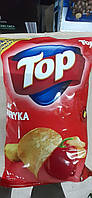 Чіпси ТОР 170грам.паприка,сир,цибуля,солені.