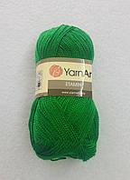Пряжа Etamin (этамин)30гр - 180м (438 Зеленый) YarnArt, 100% акрил, Турция