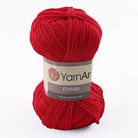 Пряжа Etamin (этамин)30гр - 180м (434 Красный) YarnArt, 100% акрил, Турция
