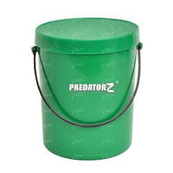 Коробка для наживки Carp Zoom Predator-Z Worm Bucket 1л CZ8548 10.5*13см