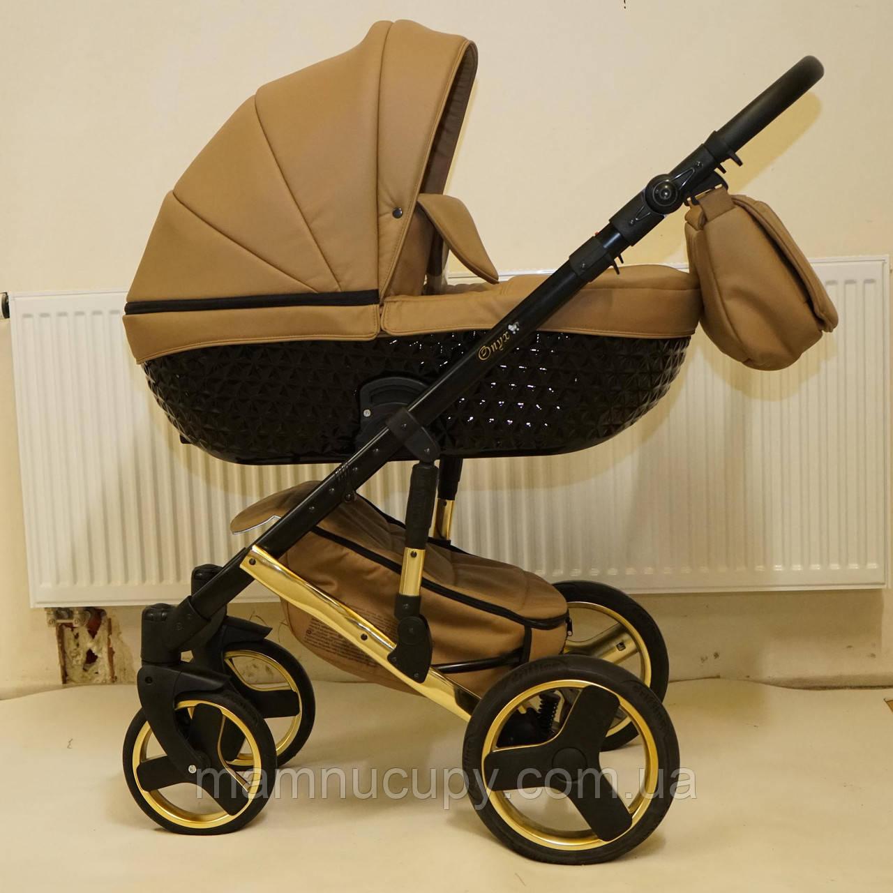 Детская универсальная коляска 2 в 1 Mikrus Specchio Silver 08