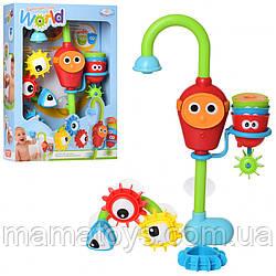 Детский набор для игры в ваннойCS010 Водопадигрушка Волшебный кран с шестеренками