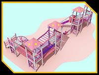 """Детская площадка  """"Замок"""""""