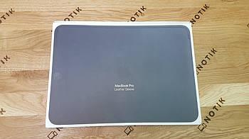 Чехол Apple MacBook Pro 13 Leather Sleeve Midnight Blue MRQL2ZM/A (Оригинал)