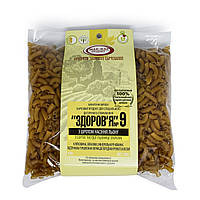 Макароны из твердых сортов пшеницы с шротом льна «Здоровье № 9», «Мак-Вар», 400 гр.