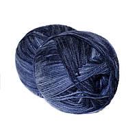 Пряжа Borgo de Pazzi Biсe 324 Темно-синяя (2444655)