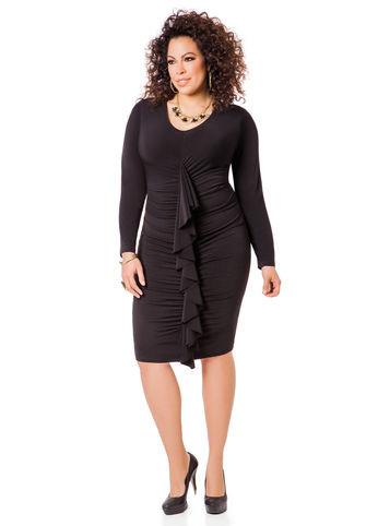 Классическое платье от производителя Royal Lusien большого размера 10-181, фото 1