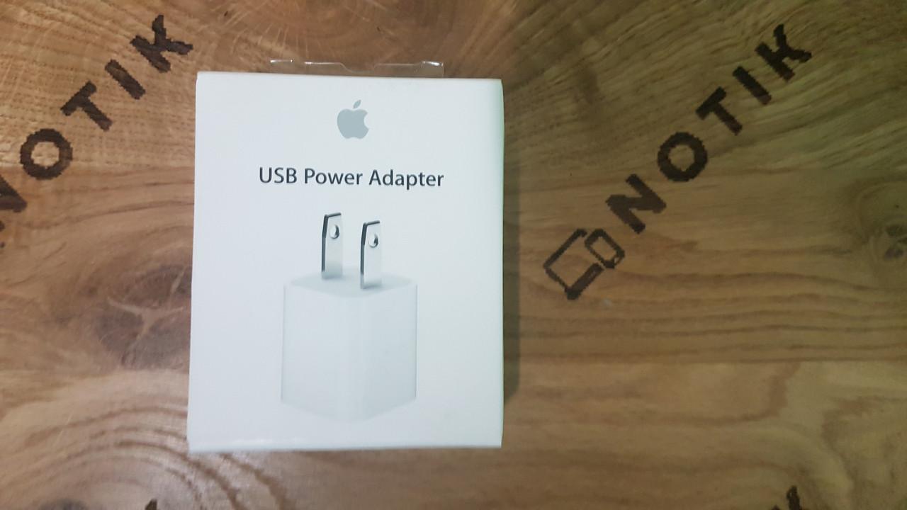 ЗАРЯДНОЕ УСТРОЙСТВО APPLE 5W USB POWER ADAPTER (MD810LL/A) ОРИГИНАЛ