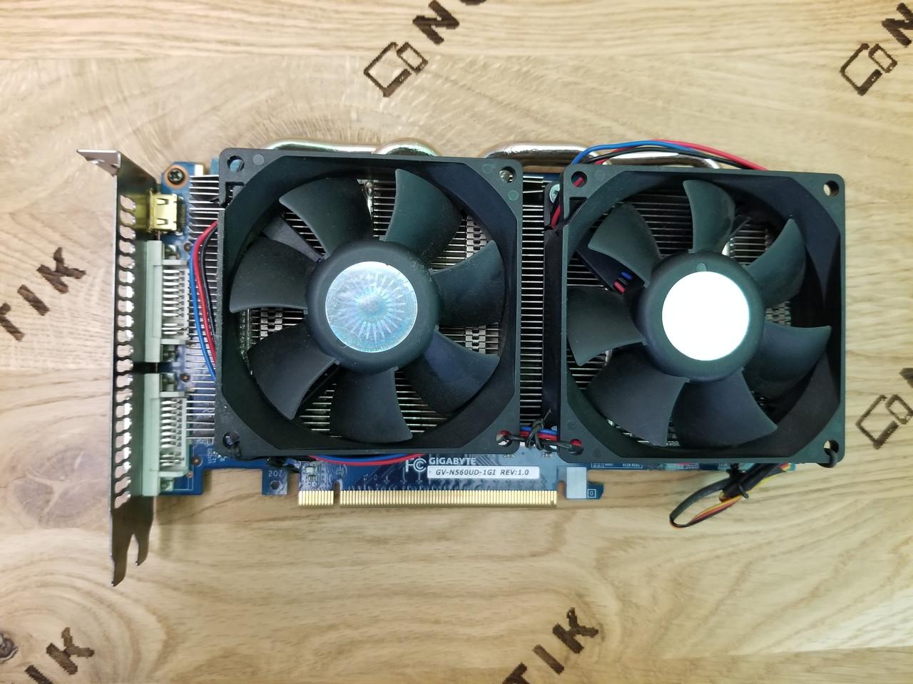 Видеокарта NVidia GeForce GTX 550 Ti 1Gb