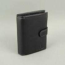 Кошелек мужской кожаный черный документы B. Cavalli 468