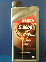 Моторное полусинтетическое масло ARECA S3000 DIESEL 10W-40 (1л)