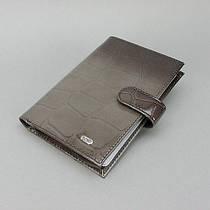 Обложка кожаная для водительских прав купюры карты Bond 177-1238