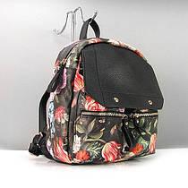 Рюкзак экокожа женский цветы Gilda Tohetti 2015-501