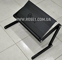 Складной мини стол для ноутбука с вентилятором