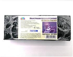 Пластилін скульптурн/400гр/331005/(12) /колір оливковий Гамма 003123