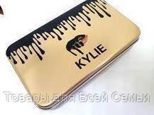 Кисточки для макияжа Kylie (12шт) Profesional brush set- Golden!Хит цена, фото 2