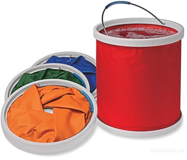 Складное ведро для воды Folding Bucket на 11л