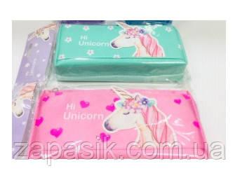 Пенал Школьный Hi Unicorn Единорог На Молнии