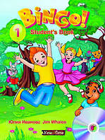 Учебник Bingo Нью Тайм Книга для ученика + CD Уровень 1 (рус)