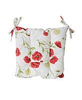 Подушка для стільця Маки Living 40х40см SKL58-252104