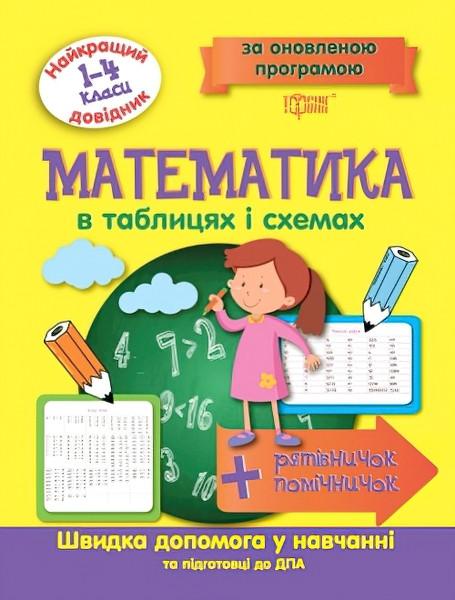 Лучший справочник Торсинг Математика в таблицах и схемах 1-4 классы