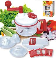 Ручной кухонный комбайн с аксессуарами 1шт 02A962