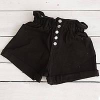0226-9 чорні Defile шорти джинсові жіночі коттонові (34-40,євро, 6 од.), фото 1