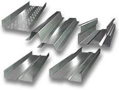 Профиль металлический оцинкованный (Ω профиль (омега), Z профиль (зет), С профиль (це), L профиль).