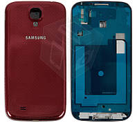 Корпус для Samsung Galaxy S4 i9500, оригинальный (красный)
